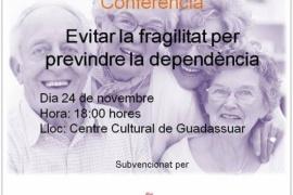 Conferència informativa: Evitar la fragilitat per previdre la dependència