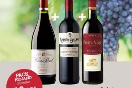 Estrenamos nuestros packs de Vino!